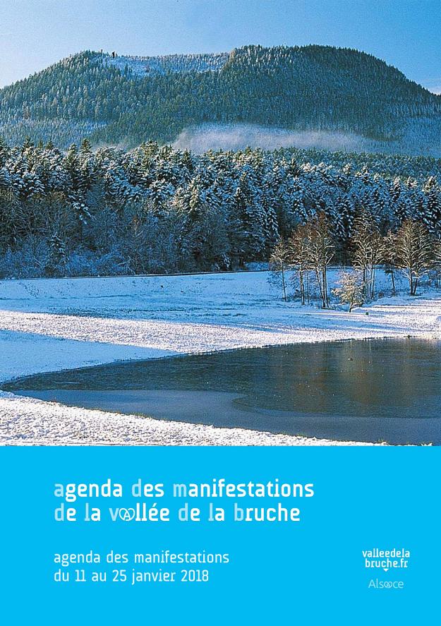 2018 01 11 agenda des manifestations de janvier vallee de la bruche