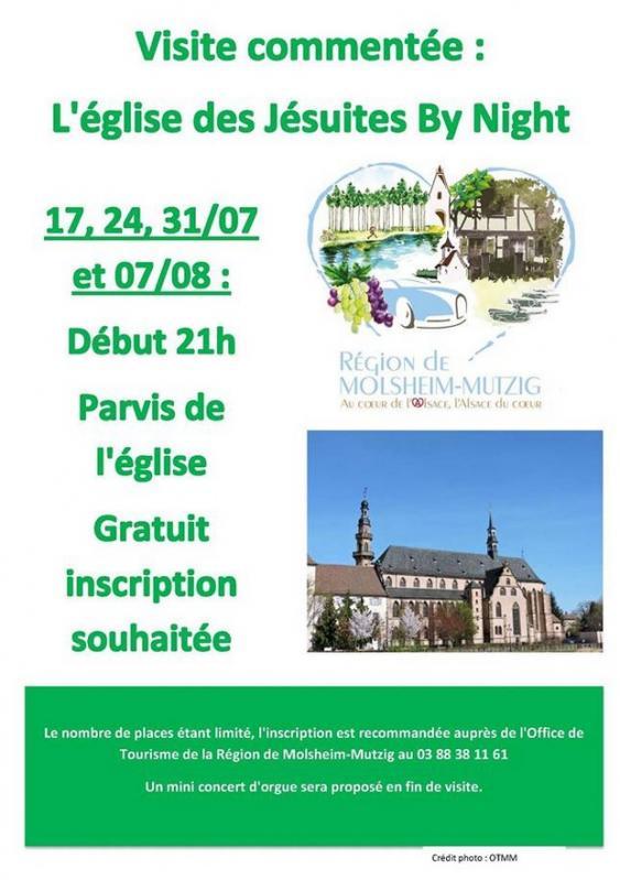 2018 07 04 visite de l eglise des jesuites a molsheim