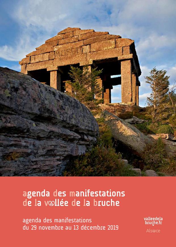 2019 11 29 agenda des manifestions vallee de la bruche