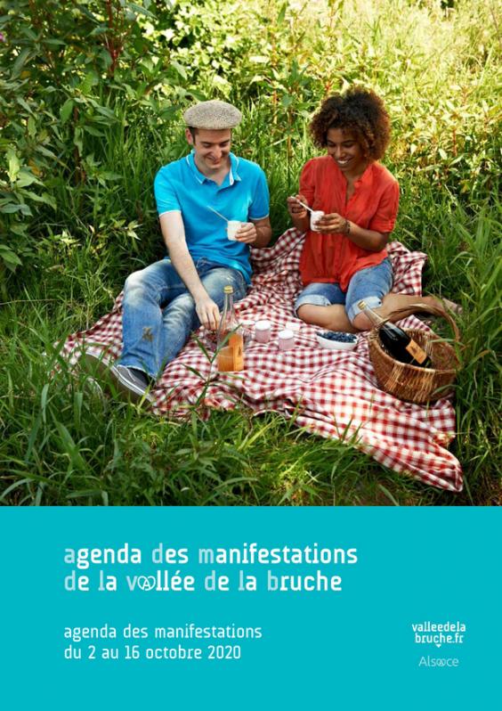 2020 10 02 agenda des manifestation vallee de la bruche octobre 2020