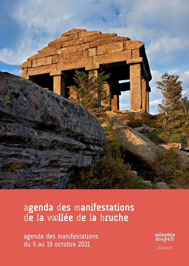 2021 10 19 agenda des manifestations vallee de la bruche