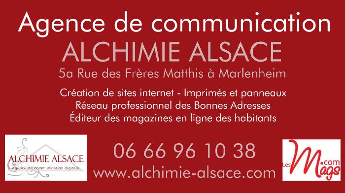 Bonne Adresse : Agence de communication Alchimie Alsace à Marlenheim