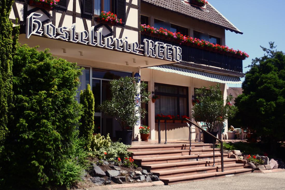L'Hostellerie Reeb à Marlenheim